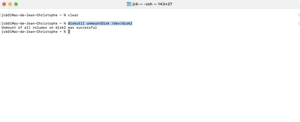 mac faire une cle usb bootable linux