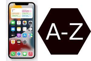 Organiser les apps de son iPhone par ordre alphabétique