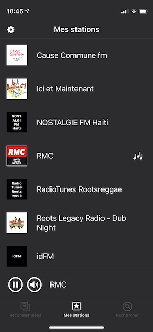 eter radio iphone mes stations