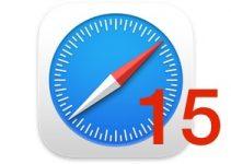Safari 15 disponible pour macOS Big Sur et Catalina
